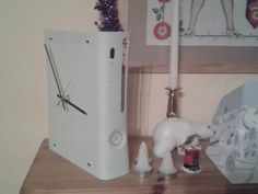 Xbox 360 Recycled Clock