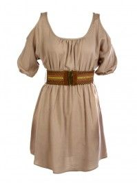 Vanity dress, cute with some brown wedge sandals
