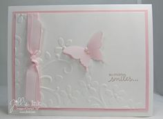 "•Petite Pairs Stamp set   •Sahara Sand Classic Stampin' Pad   •Whisper White Card Stock   •Pink Pirouette Card Stock   5"" x 3 3/4"""