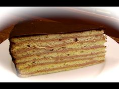 PRINZREGENTEN TART (plus Recipe) - YouTube