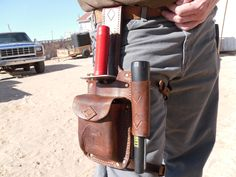 Lesche/Propointer/finds pouch thigh rig.