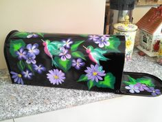 Hand Painted  Mailbox    Rural Style by krystasinthepointe on Etsy