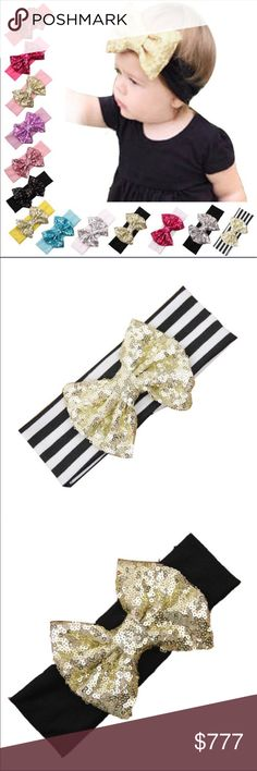 🆕COMING SOON- Girls Sequin Bow Headbands New and direct from vendor. May or may not have tags. ⚠️Please see pics and ask all questions prior to purchase as there are NO RETURNS!!! ⚠️***** WILL BE $10 per headband A Dream Come True Accessories Hair Accessories