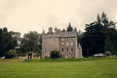 Culcreuch Castle Scotland - We got married there in 2005.