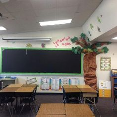 Chameleon classroom tree.... Just a little nice decoration for my classroom...