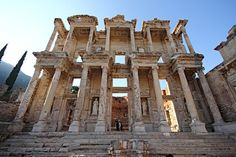 Library of Celsus , Turkey