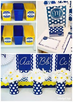 Use printed duct tape on mailboxes and tubs with names on labels