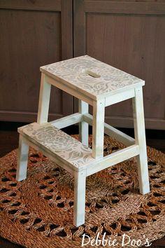 Painting an IKEA step stool