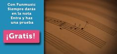 ¡Aprovecha nuestras pruebas gratuitas!   Guitarra, Bateria o Timple (el ukelele canario)  http://www.funmusic.es/