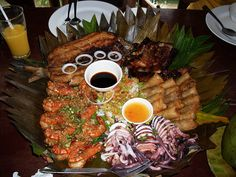 Pinoy Foods From Balinsasayaw Restaurant in Silang Cavite, Philippines!