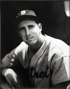 George Brace, Hank Greenberg Portrait, not dated, gelatin silver print