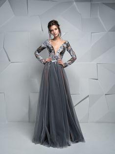 919320f9400e Najkrajšie šaty na stužkovú s dlhými rukávmi Plesové Šaty
