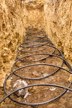 The Basics of Geothermal Heating Systems - Renovation Ideas - Geothermal Energy Underground Greenhouse, Diy Greenhouse, Energy Efficient Windows, Energy Efficiency, Renewable Energy, Solar Energy, Solar Power, Wind Power, Heat Pump Installation
