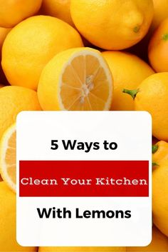 Do you want your kitchen to smell fresh and clean? I've got tips and tricks on how to clean your kitchen with lemons PLUS I'm sharing the only product I use to clean my stainless steel kitchen appliances. #MyPledgeCastle #ad