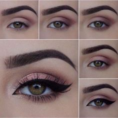 sexy eye makeup - Sexy Augen Make-up – Lidschatten sexy eye makeup – eyeshadow # - Sexy Eye Makeup, Skin Makeup, Eyeshadow Makeup, Beauty Makeup, Pink Eyeshadow, Eyeshadow Palette, Gel Eyeliner, Brown Eyeliner, Colorful Eyeshadow