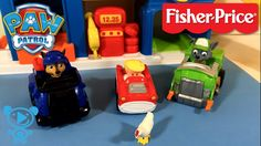 Paw Patrol Welpen Spy Chase und Rocky retten Chickaletta - Review Little...
