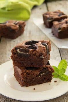 Brownie aux biscuits Oréo 2