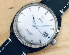 Omega Mens Seamaster Cosmic 1967 Stainless Steel second hand vintage Watch calibre 565 Mechanical 1967 automatic wristwatch Box Mens Watch Box, Leather Watch Box, Modern Watches, Vintage Watches, Omega Ladies, Omega Seamaster Automatic, Automatic Watches For Men, Vintage Omega, Omega Speedmaster