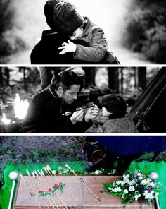 """5x21 """"Last Rites"""" #onceuponatime #CaptainSwan #OutlawQueen #ouat #once"""