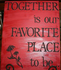 16x20 Canvas painted black, vinyl letters and decal cut from my Cricut (measure and place), paint  over the works with red, peel the stickers and tadah an easy and fun project!