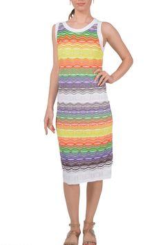 M Missoni Rainbow Ripple Stitch Dress $65/Week