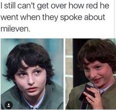 No puedo dejar de pensar en como se puso Mike de Colorado cuando hablaron de Mileven