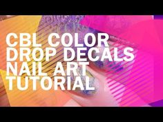 Tutorial Thursday! Colors by Llarowe Shimmering Color Drops Look (+ Video Tutorial)