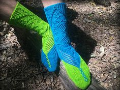 Ravelry: Twisted Soul Socks pattern by Nathan Taylor