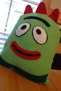 brobee snuggle pillow