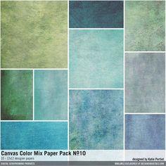 Canvas Color Mix Paper Pack No. 10