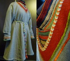 Outer tunic of the Skjoldehamn outfit. Reconstruction by Ekaterina Savelyeva.