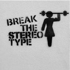 Girls lift weights, deal with it !!!