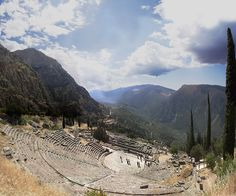 I would love to go back to Delphi, Greece someday...such a spiritual and peaceful place!