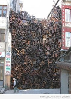 hoarders - the chair edition