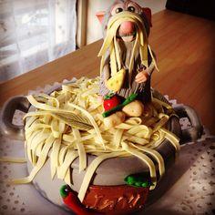 Disney Party Ideas: Ratatouille party Cake