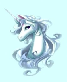 I want a Last Unicorn tattoo because the film and book mean so much to me and move and inspire me so. This is beautiful. It is by http://loristebbins.deviantart.com/