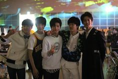 Donghyuk, Jeno, Jisung, Jaemin & Mark