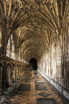 Beautiful Places...Gloucester Cathedral, England.
