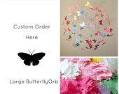 Nursery Decor, Butterfly Nursery, Butterfly Mobiles, Baby Mobiles, Childrens Room, Teen's Room, Crib Mobiles, Custom Mobiles