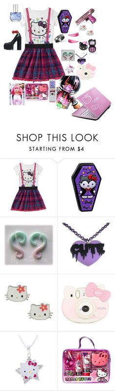 """Hello kitty"" by blu3k1tty ❤ liked on Polyvore featuring Hello Kitty"