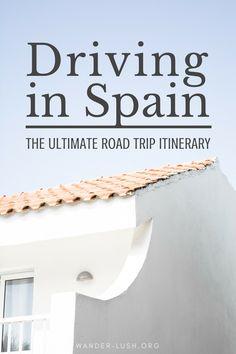 Barcelona to Tarifa — the ultimate Spain self-drive road trip itinerary!   #Spain #roadtrip