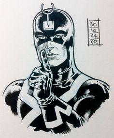 Art by Gabriel Rodriguez, http://gr-comics.tumblr.com