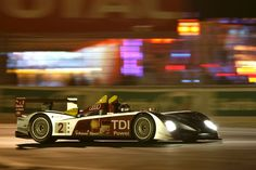 The #2 Audi R10 TDI won the 2008 24h Le Mans