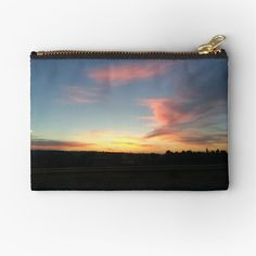 Iphone Wallet, Gifts For Family, Zipper Pouch, Zip Around Wallet, My Arts, Art Prints, Sunset, Printed, Awesome