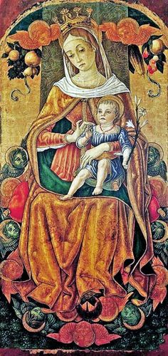 It's About Time: Madonnas attributed to Vittorio Crivelli (Italian artist, c 1440-1501)