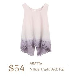 Not my typical style, but something about this top is calling to me - Aratta Millicent Split Back Top - Stitch Fix