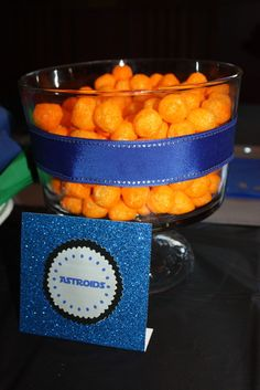 Cheese balls went over well last time...