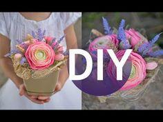 Букет своими руками к 1 сентября DIY Tsvoric Bouquet with own hands by September 1 - YouTube