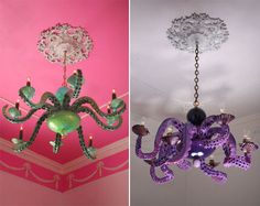 ...chandeliers by Adam Wallacavage...