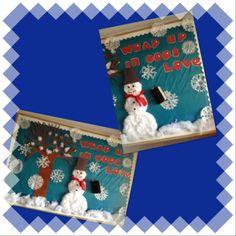 Wrap up in God's Love bulletin board